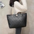 手提包側背包 包包新款2020手提包女大包大容量單肩包時尚高級感托特包【快速出貨八折搶購】