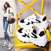 帆布鞋(休閒鞋) 秋季新款運動鞋跑步鞋女