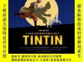 二手書博民逛書店The罕見Art of The Adventures of Tintin (Movie Tie-in)Y217