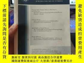 二手書博民逛書店Volume罕見LII,Number 2 JOURNAL OF
