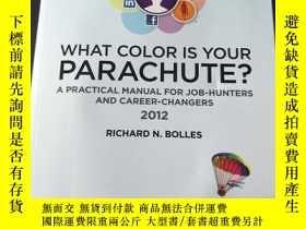 二手書博民逛書店What罕見Color Is Your Parachute?Y2