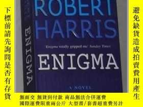 二手書博民逛書店英語原版罕見Enigma by Robert Harris 著Y