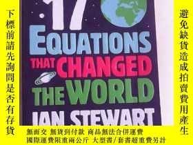 二手書博民逛書店Seventeen罕見Equations that Changed the World 英文原版 改變世界的17個
