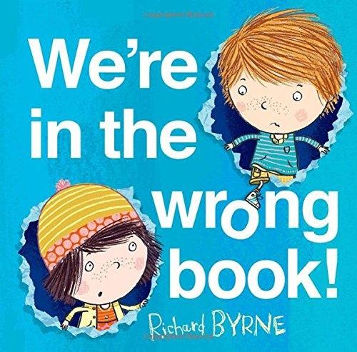WE'RE IN THE WRONG BOOK /平裝繪本《主題:想像.幽默》