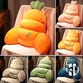 辦公室久坐腰枕腰靠護腰墊座椅靠墊孕婦抱枕床上靠枕椅子靠背腰椎【Kacey Devlin】
