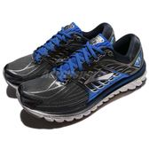 BROOKS 慢跑鞋 Glycerin 14 甘油系列 十四代 銀 藍 超級DNA動態避震科技 運動鞋 男鞋【PUMP306】 1102361D017
