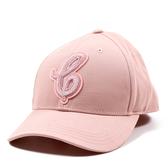 美國正品 COACH 女款 絨布草寫字母棒球帽-粉色【現貨】