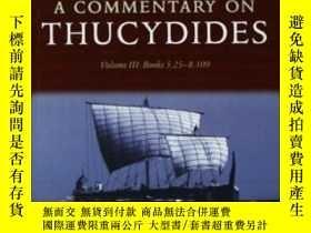 二手書博民逛書店3:罕見A Commentary On Thucydides: