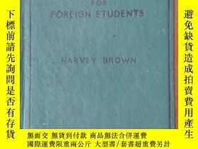 二手書博民逛書店spoken罕見english for foreign students 1947Y19376 harvey
