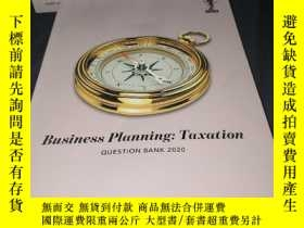 二手書博民逛書店Business罕見Planning:Taxation(question book 2020)Y436455