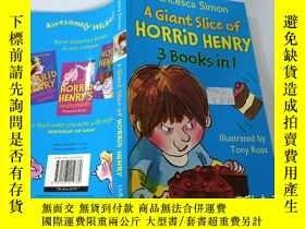 二手書博民逛書店A罕見Giant Slice of Horrid Henry:一大塊可怕的亨利Y200392