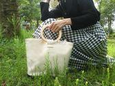 帆布包  韓國東大門同款極簡大容量帆布包ins爆款購物包手提包女大包 『伊莎公主』