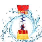 聖誕回饋 寶寶洗澡神器旋轉舀水戲水筒浴室玩水嬰兒洗澡玩具抽水花灑戲水杯