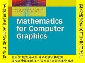 二手書博民逛書店Mathematics罕見For Computer Graphics(3rd Edition)Y255562
