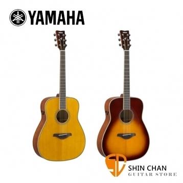 YAMAHA山葉FGTA41吋可插電單板民謠吉他FG TA 附原廠袋、Pickx2、移調夾、導線、背帶【FG-TA/D桶身】