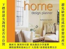 二手書博民逛書店Home罕見Design Planner (Design pla