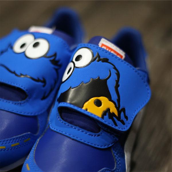 PUMA Cabana Racer SL Sesame 童 全藍皮革 白Logo 魔鬼氈 中童 (布魯克林) 2016/10月 36168701