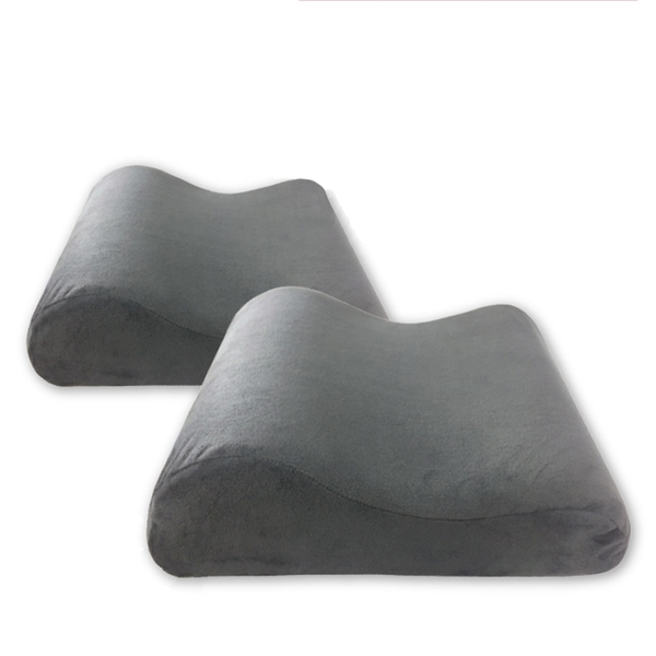 多功能記憶枕靠墊『暗灰』1717072B 乳膠枕.午安枕.充氣枕.頭靠枕.午睡枕.旅行枕.飛機枕