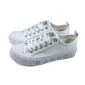 KANGOL 休閒鞋 帆布鞋 女鞋 白色 6122160100 no161