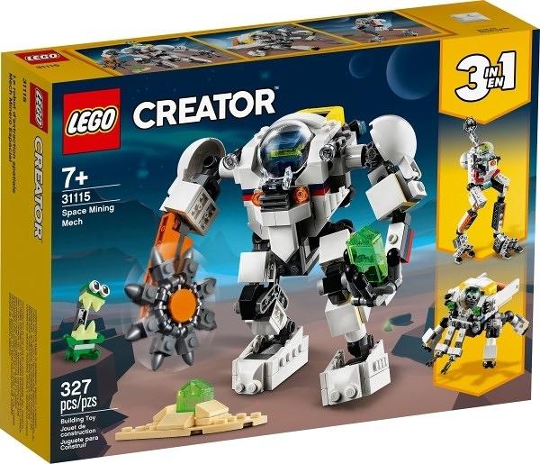 樂高LEGO CREATOR 太空採礦機械人 31115 TOYeGO 玩具e哥