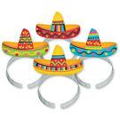 髮箍8入-墨西哥帽