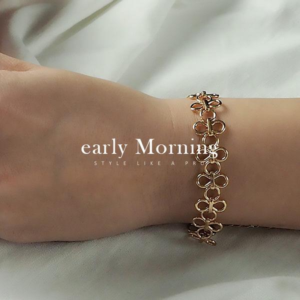 ✡歐美版✡ early Morning - 復古華麗 金屬蕾絲手鍊 奢華歐美版【CC039】