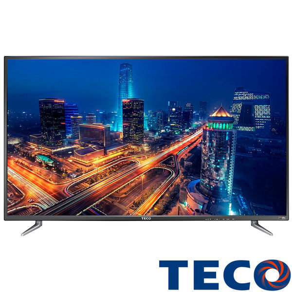【福利品】TECO東元 43吋TL43K1TRE Full HD液晶電視顯示器附視訊盒(全機東元保固一年)