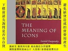 二手書博民逛書店The罕見Meaning of IconsY346464 Leo