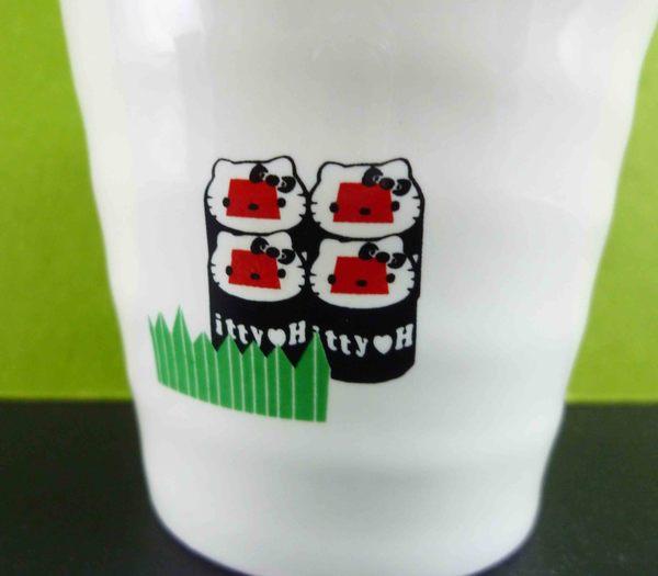 【震撼精品百貨】Hello Kitty 凱蒂貓~陶瓷杯~和風壽司