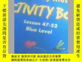 二手書博民逛書店Galaxy罕見Kids ACTIVITY BOOK Lesso