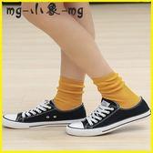 MG 堆堆襪-短襪淺口可愛船襪學院風堆堆襪中筒襪