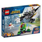 樂高積木LEGO 超級英雄系列 76096 正義聯盟 超人與氪普托的協力作戰