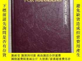 二手書博民逛書店英文原版罕見Economics for Managers by