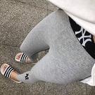正韓 NY 內搭褲 刺繡 螺紋 坑條 壓紋 長褲 打底褲 九分褲 小腳褲 顯瘦 運動 休閒 彈性 韓國 NXS