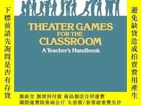二手書博民逛書店Theater罕見Games For The Classroom
