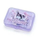 〔小禮堂〕酷洛米 日製造型貼紙組附盒《紫.趴姿》40枚入.裝飾貼.黏貼用品 4901610-03776