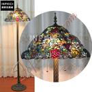 INPHIC-訂製繁花似錦歐式餐廳彩色玻璃手工藝品臥室客廳落地燈_S2626C