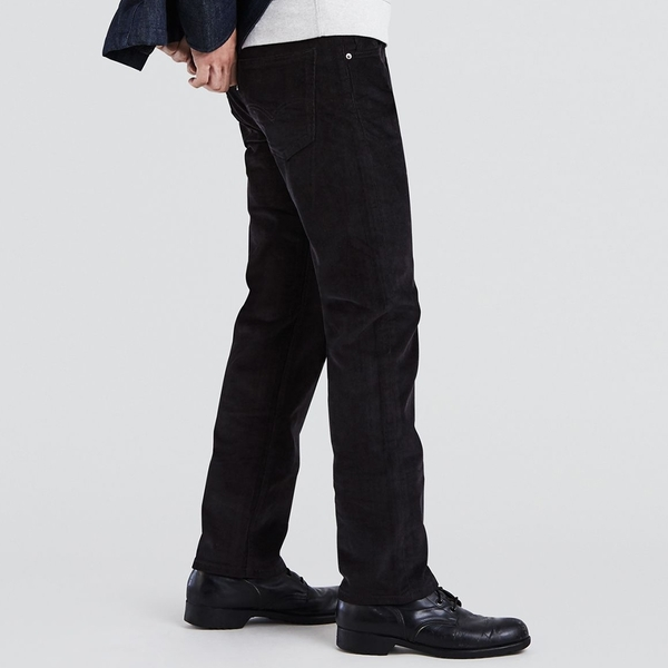 Levis 男款 505修身直筒燈心絨休閒褲 / 彈性布料