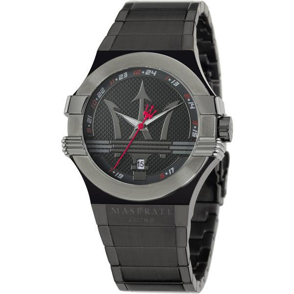 ★MASERAT WATCH★瑪莎拉蒂手錶-黑鋼款-R8853108003錶現精品公司-原廠正貨-