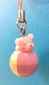 【震撼精品百貨】PostPet_MOMO熊~COMOMO熊發光手機吊飾-粉#70797