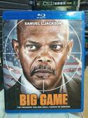 挖寶二手片-Q28-029-正版BD【總統遊戲/Big Game】-決戰終點線製作團隊*山繆傑克森