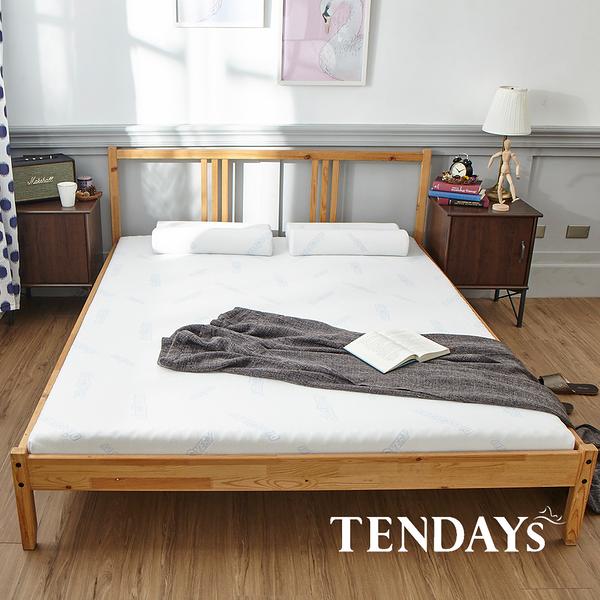 床墊-TENDAYs 5尺標準雙人8.5cm厚-DISCOVERY柔眠記憶床墊(晨曦白)