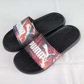 【iSport愛運動】 PUMA POPCAT FLOWER POWER WNS 拖鞋 正品 36942301 女款 黑