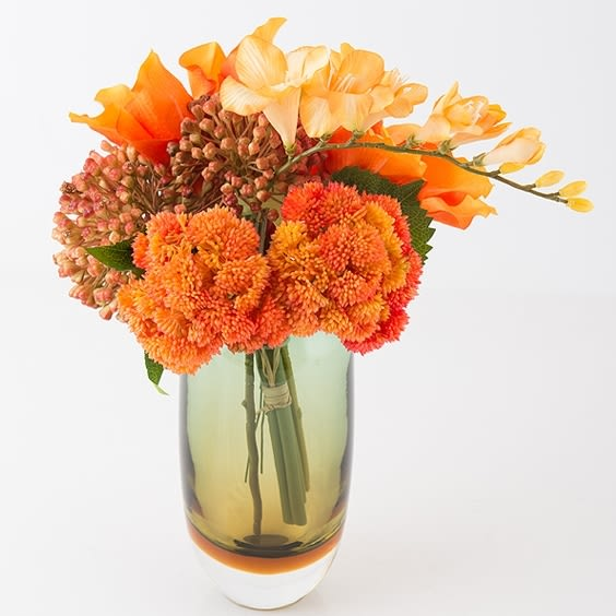 模擬花假花 套裝 花藝 客廳餐桌 裝飾花 花瓶 -bri010032