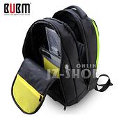 【滿490免運】BUBM輕量筆電背包 懸浮筆電艙 13 14 15吋 超大容量 後背包 透氣減壓(黑色)(SJB)