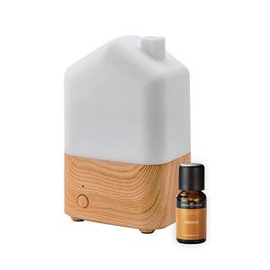 (組)日荷暖光香氛水氧機x1+SERENE HOUSE美國精油-甜橙x1