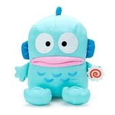 小禮堂 人魚漢頓 尼龍玩偶 生日娃娃 絨毛娃娃 中型玩偶 布偶 (L 藍 生日漫畫) 4550337-44374