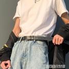 潮流做舊復古風皮帶男時尚個性年輕人褲腰帶簡約百搭韓版學生韓國