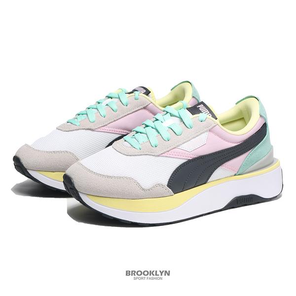 PUMA 休閒鞋 CRUISE RIDER SILK ROAD WMNS 白粉綠黑 女 (布魯克林) 37507206