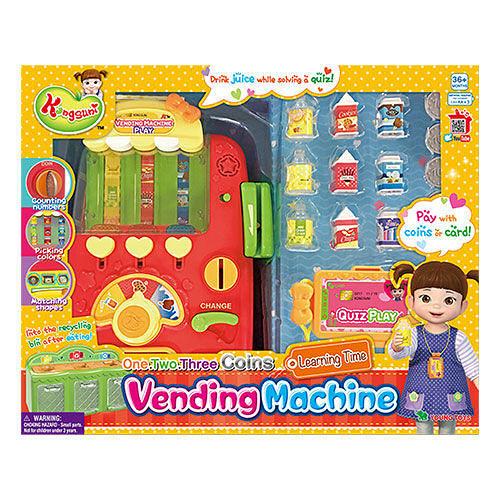 KONGSUNI 小荳娃娃 自動販賣機YT31048 原廠公司貨 YONUG TOYS